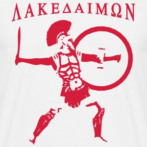 Spartan 6 + Lakedaimon T-Shirts - Men's T-Shirt