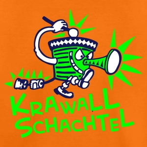 Krawallschachtel in Grün - Teenager Premium T-Shirt