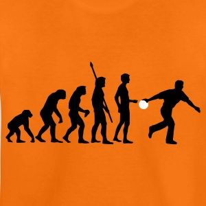 evolution_bowler_2c Shirts - Teenage Premium T-Shirt