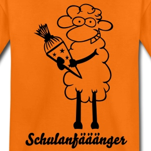 Orange Schulanfänger Kinder T-Shirts - Teenager Premium T-Shirt