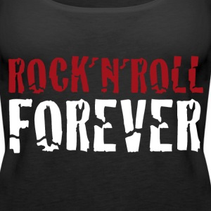 rock´n´roll forever - Frauen Premium Tank Top
