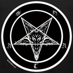 Sigil of Baphomet Satan Men's T-Shirts - Men's Premium Tank Top
