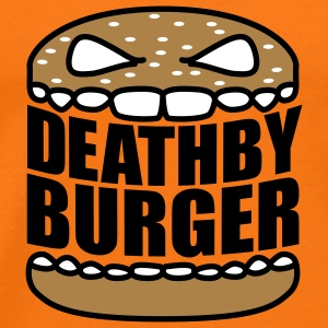 Death by Burger © T-Shirts - Herre premium T-shirt