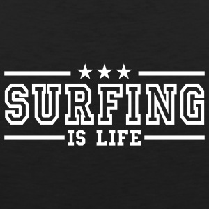 surfing is life deluxe T-Shirts - Männer Premium Tank Top