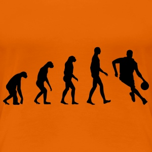 Evolution Basketball T-Shirts - Frauen Premium T-Shirt