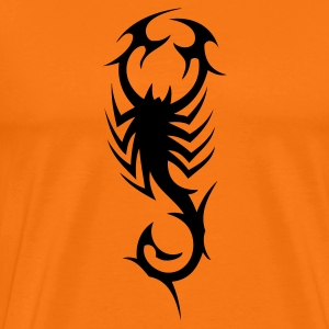 tribal scorpion T-Shirts - Men's Premium T-Shirt