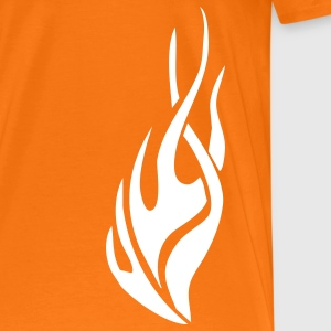 tribal flame T-Shirts - Men's Premium T-Shirt