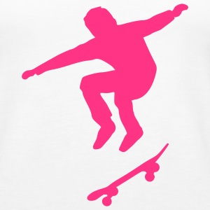 Skateboarder Tops - Frauen Premium Tank Top