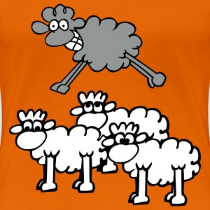 jumping sheep T-Shirts - Women's Premium T-Shirt