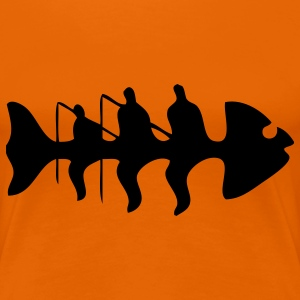fish fishing T-shirts - Premium-T-shirt dam