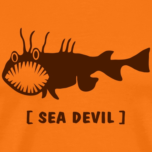 Fish Sea Devi seadevil fishing fisherman ocean prey predator