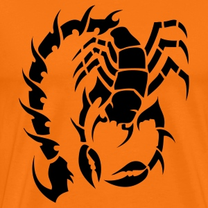 tribal scorpion T-shirts - Premium-T-shirt herr
