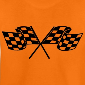 racing flags sport Kids' Shirts - Teenage Premium T-Shirt