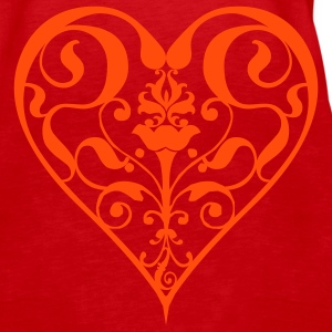 heart - Women's Premium Tank Top