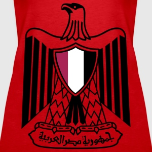 Coat of Arms - Egypt Tops - Women's Premium Tank Top