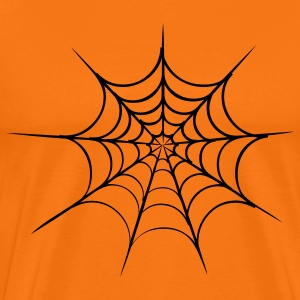 spider web halloween T-Shirts - Men's Premium T-Shirt
