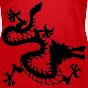 Japanese Dragon Tops - Women's Premium Tank Top