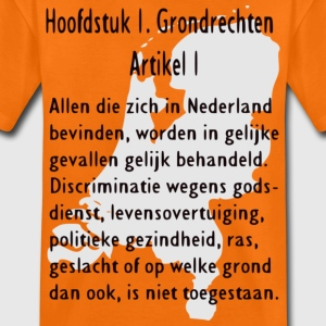 Grondwet Kinder shirts - Teenager Premium T-shirt