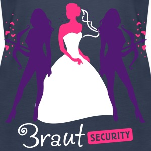 Braut Security 3C Tops - Frauen Premium Tank Top