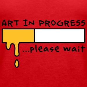 Art in Progress - Loading, please wait Topit - Naisten premium hihaton toppi