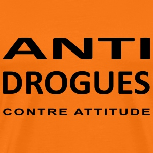 ANTI-DROGUES - T-shirt Premium Homme