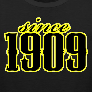 since 1909 (black) T-Shirts - Männer Premium Tank Top