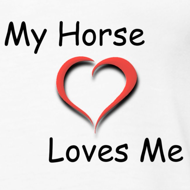 Canotta My Horse Loves Me