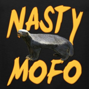 Honey Badger Nasty MOFO T-Shirts - Men's Premium Tank Top