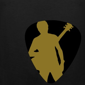 Plectrum bass guitarist 2 T-Shirts - Men's Premium Tank Top