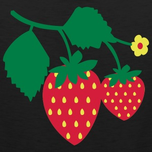 Strawberry Camisetas - Tank top premium hombre