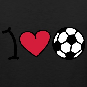 I love football Camisetas - Tank top premium hombre