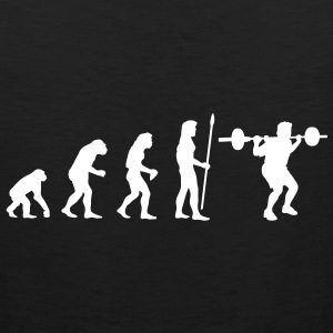 evolution_bodybuilding1 T-shirts - Mannen Premium tank top