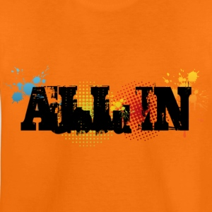 All in Graffiti Kids' Shirt - Teenager Premium T-Shirt