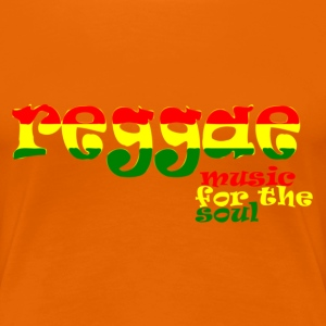 Reggae - music for the soul T-Shirts - Frauen Premium T-Shirt