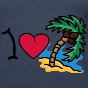 I love holidays Tops - Women's Premium Tank Top