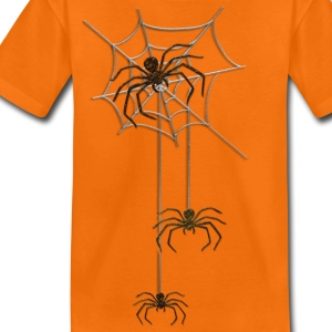 SPIDER TRIPLE | Kindershzirt - Teenager Premium T-Shirt