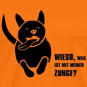 Hund Herrchen Frauchen Mops crazy dog verrückt zunge