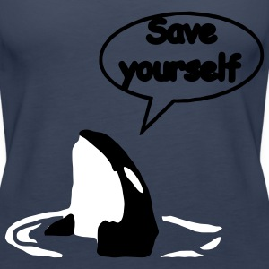 save_yourself Tops - Camiseta de tirantes premium mujer