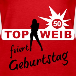top_weib_50 Tops - Frauen Premium Tank Top