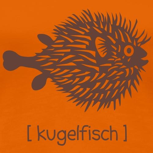 kugelfisch fisch schwanger bauch bierbauch angler mutter mama mami mutti