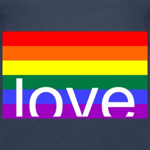Love Gay Tops - Frauen Premium Tank Top
