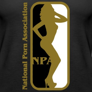 NBA? Nein NPA - National Porn Association Pornostar Tops - Frauen Premium Tank Top