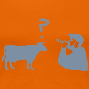 Rap Cow T-Shirts - Frauen Premium T-Shirt