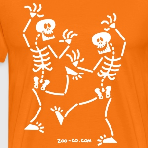 Dancing Skeletons T-Shirts - Men's Premium T-Shirt