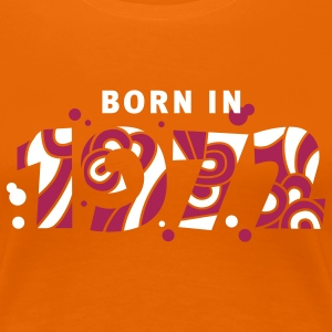 Born in 1972 T-Shirts - Frauen Premium T-Shirt