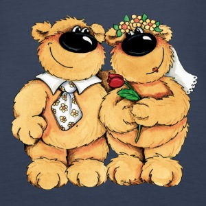 Wedding Bears Topy - Tank top damski Premium