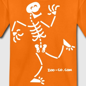 Skeleton Laughing Kids' Shirts - Teenage Premium T-Shirt