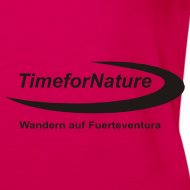 Motiv ~ TimeforNature-Damen-Top mit Logo