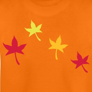 Autumn Leaves - Teenage Premium T-Shirt