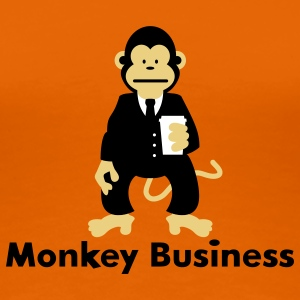 Monkey Business T-shirts - Vrouwen Premium T-shirt